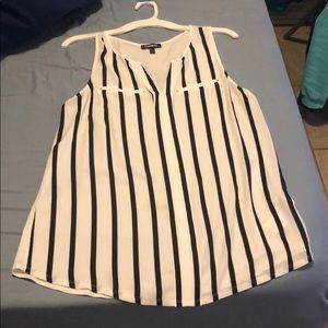 Pin striped shirt from express
